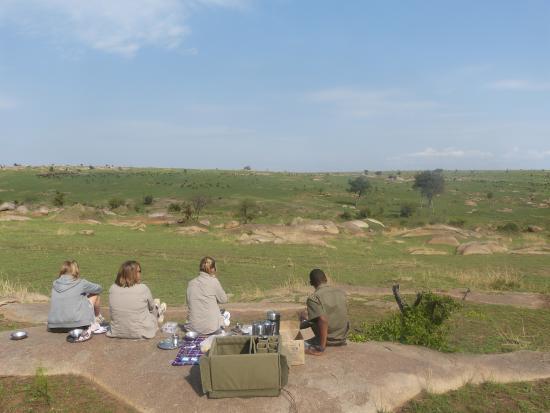 Olakira Camp, Asilia Africa: bush breakfast