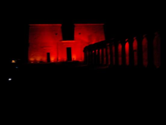 Sound and Light Show - Philae : Color of LOVE