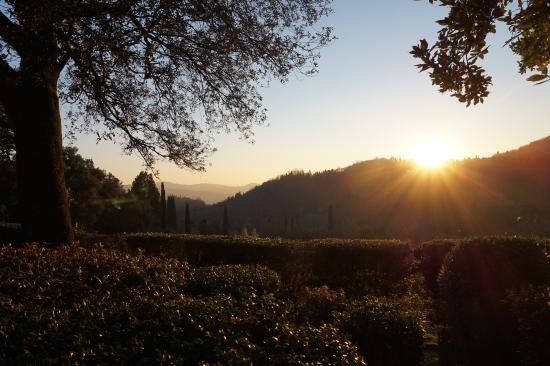 Villa Di Campolungo Agriturismo : Sunset from the B&B