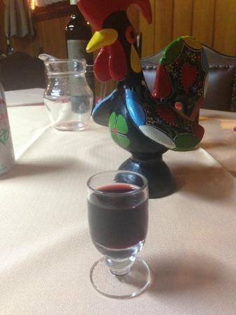 Restaurante Vila Cha: vinho do porto