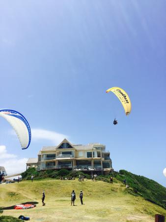 Cloudbase Paragliding: The views launch site