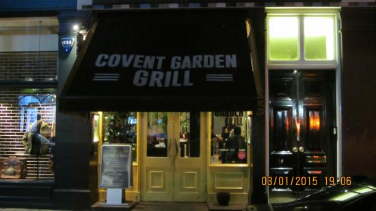 Covent Garden Grill: front
