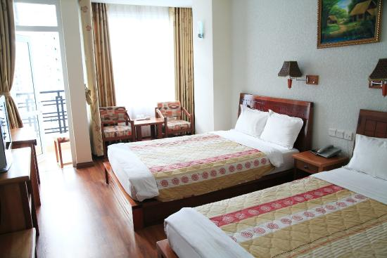 Hoang Hai (Golden Sea) Hotel: Deluxe Twin room