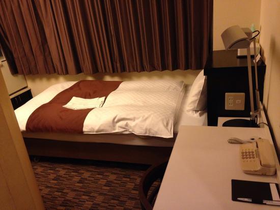 Fushimi Mont-Blanc Hotel: やや窮屈