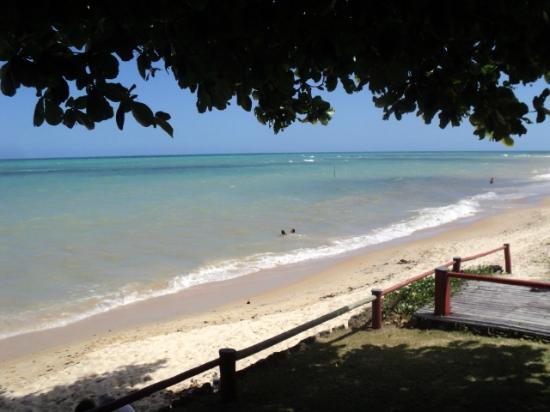 Privillage Praia: Vista do deck da piscina