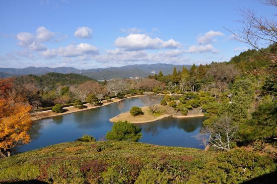 Shugakuin Imperial Villa: 雄大な浴竜池