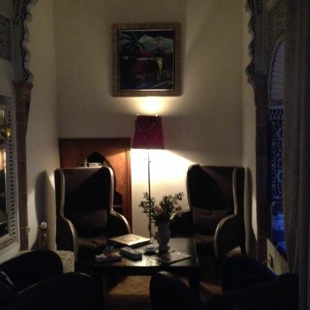 Riad Dar Mayssane : Aufenthaltsraum