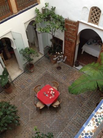 Riad Dar Mayssane : Innenhof