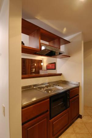 Leblon Suites Hotel: Cocina