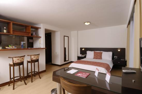 Leblon Suites Hotel: Suite Standard