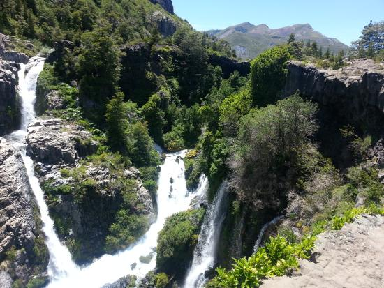 Turismo Curalemu : Nacimiento del Río Laja - Parque del Laja