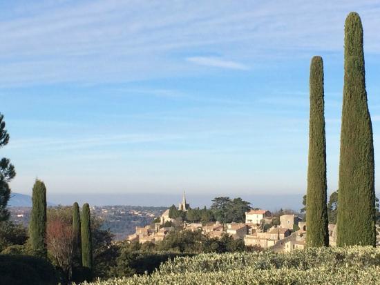 Domaine de Capelongue: Panorama dalla camera Arsule