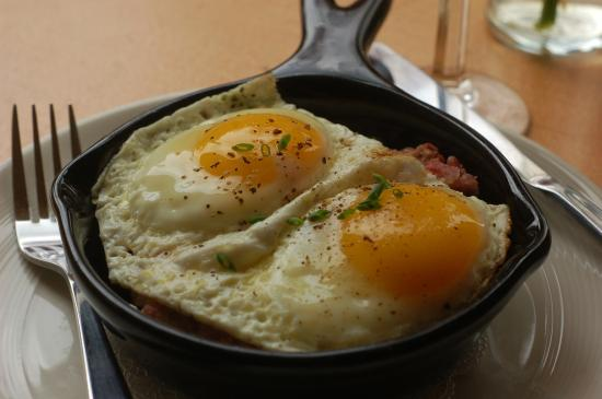 The Golden Lamb Restaurant: House-made corned beef hash
