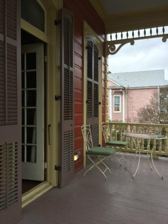 Maison de Macarty : View from the Swing on the Porch/Master Suite