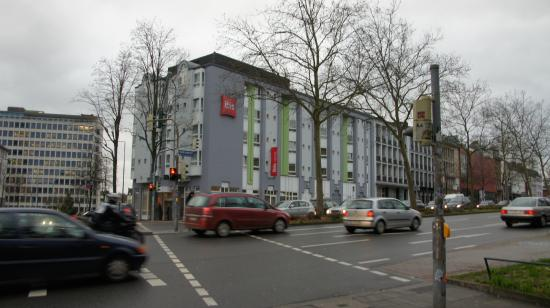 Front hotel Picture of Hotel ibis Aachen Hauptbahnhof Aachen