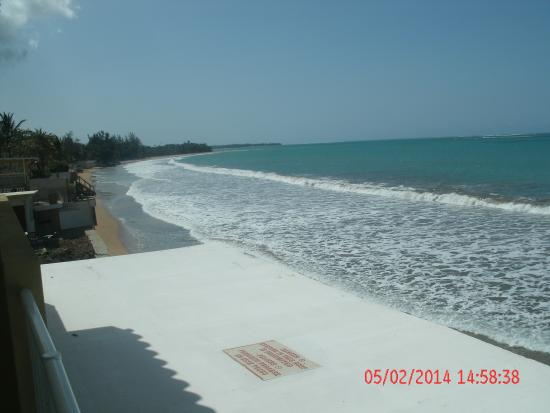 Hotel Yunque Mar : VISTA AL MAR