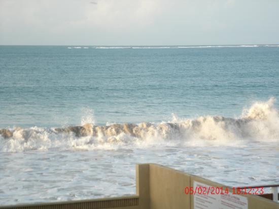 Hotel Yunque Mar : expectacular sonido del mar