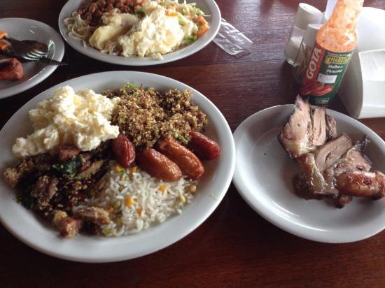 Rancho Bufalo: prato do meu pai e do cunhado!!!1