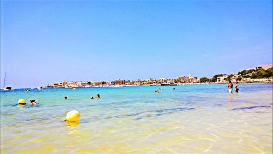 Aparthotel & Hotel Isla de Cabrera: plage