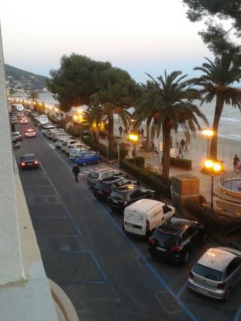Grand Hotel Mediterranee: Vista dalla stanza