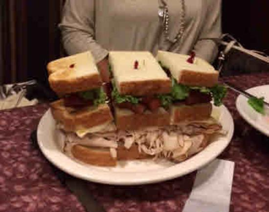 Douglassville Hotel: A Normal Club Sandwich!!!