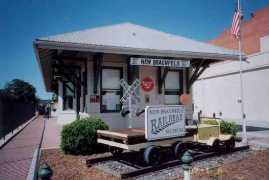 ‪New Braunfels Railroad Museum‬