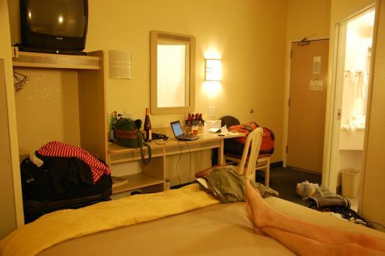 Motel 6 Beatty / Death Valley: la chambre