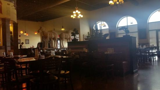 Shanghai Grill: Inside of the restaurant