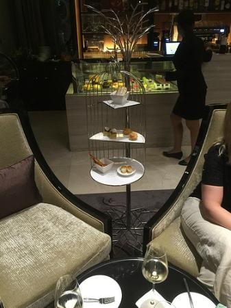 Snacks at The Lounge on Foyer Level.