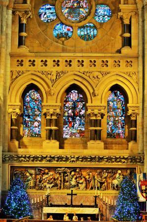 Waltham Abbey Gardens: interior