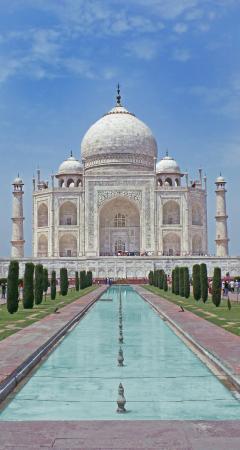 Taj Mahal: Taj long view