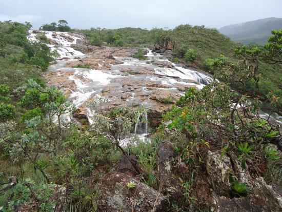 Sao Joao Batista do Gloria: Topo da Cachoeira