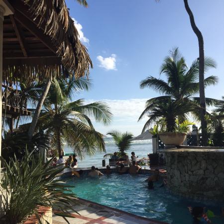 Sca Beach Club Restaurant: Hermoso Atardecer en Sca