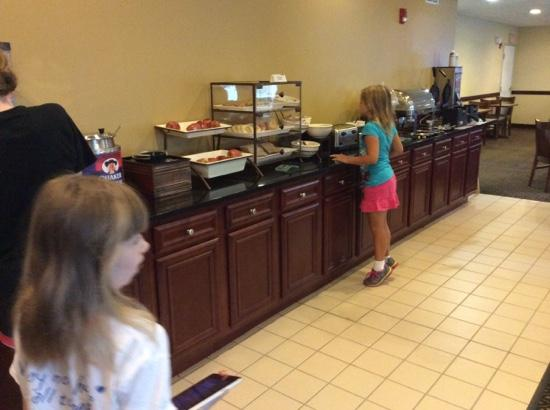 Country Inn & Suites By Carlson, Gurnee: breakfast buffet