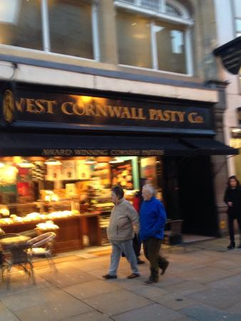 The West Cornwall Pasty Company: Location