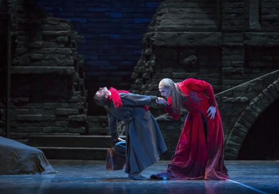 Colorado Ballet: Domenico Luciano and Viacheslav Buchkovskiy in Dracula - by Mike Watson