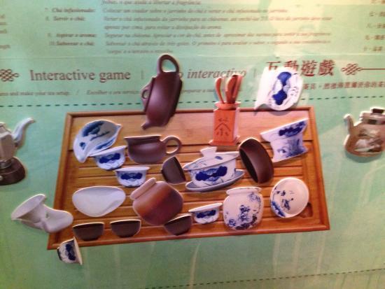 Macau Tea Culture House: The tea set