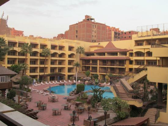 Amarante Pyramids Hotel : View from room 205A