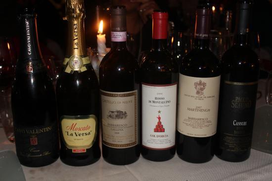 La Genzianella : Vini proposti per accompagnare il Cenone 2015