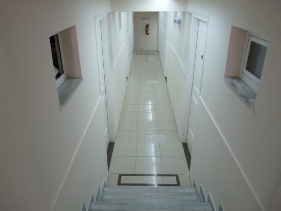 Hotel Admiral Argassi : korytarze hotelowe