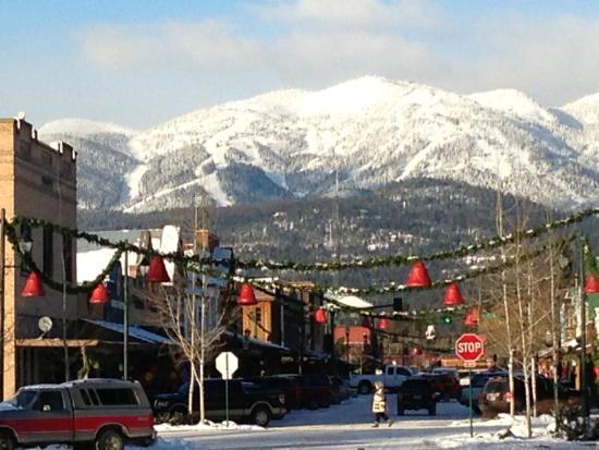Whitefish Mountain Resort: The charming town of Whitefish