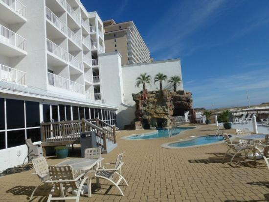 Best Western On The Beach: Great Pool & Jacuzzi