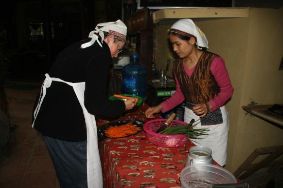 La Ferme du Colvert Resort Spa: En plein cours de cuisine