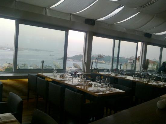 Leb-i Derya: terrazza panoramica del Richmond hotel