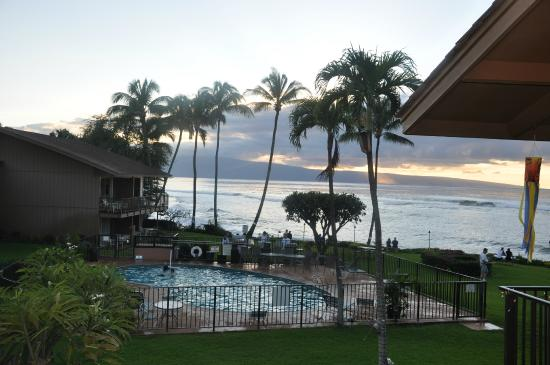 Polynesian Shores : View from our room