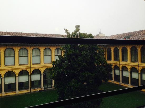 Palazzo Delle Stelline: vista desde la habitación