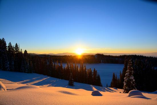 Grand Mesa Lodge: Sunrise
