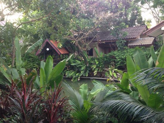 Kata Country House: Vista dal Bungalow