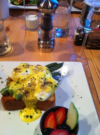 Twisted Olive: Eggs Monaco - Freshly Ground Pepper?  Yes Please!