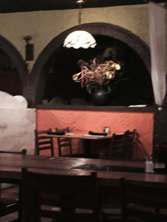 Ovalle's Mexican Cafe : Interior of restaurant